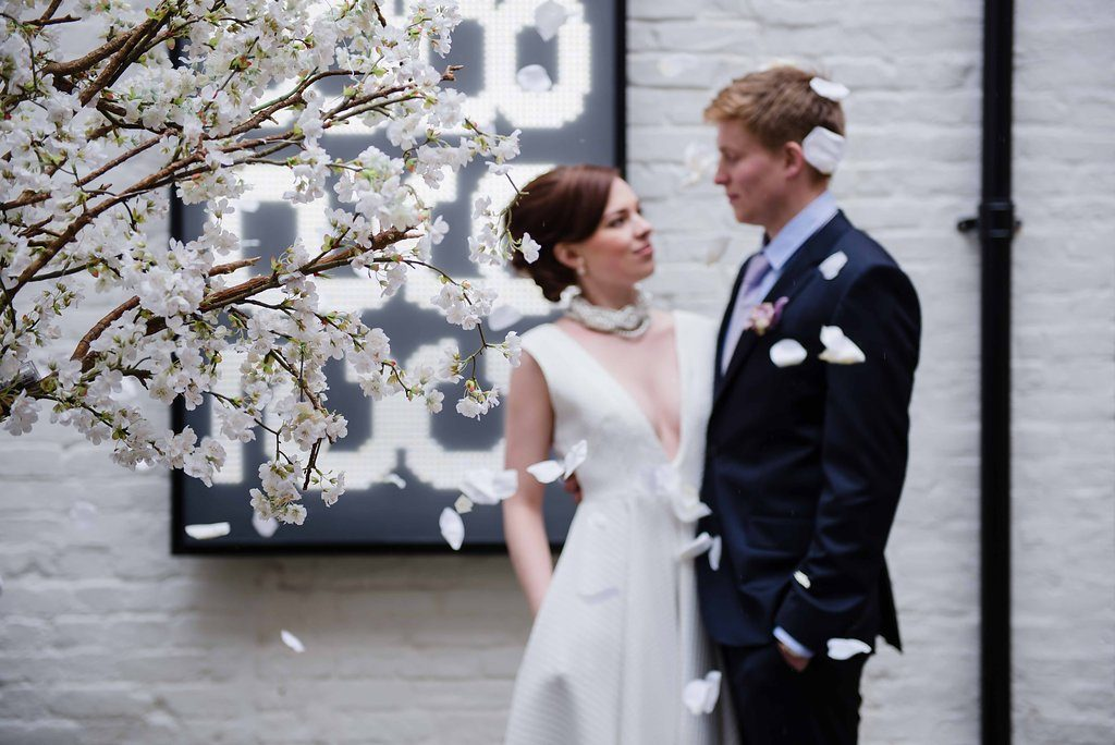 Cool Shrewsbury Museum Wedding Photo Shoot With Dress Shops In